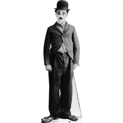 """Celebrate 100 Years of Charlie Chaplin's """"Tramp"""" ... with live music by David Arner"""